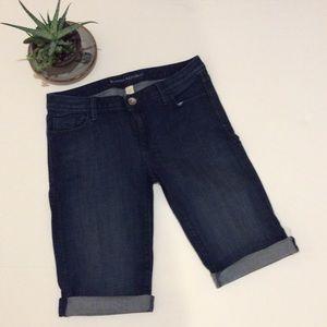 Banana Republic Denim Shorts with Roll Cuff
